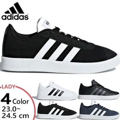 アディダス レディース ジュニア VL コート 2.0 VL COURT 2K スニーカー シューズ 運動靴 紐靴 送料無料 adidas DB1827 DB1828 DB1831 F3
