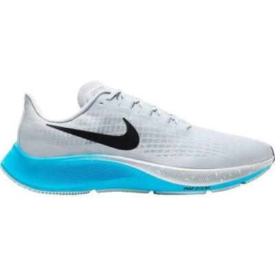 ナイキ シューズ メンズ ランニング Nike Men's Air Zoom Pegasus 37 Running Shoes White/Black/Blue