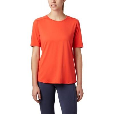 コロンビア Columbia レディース Tシャツ トップス Chill River T-Shirt Bright Poppy