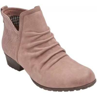 ロックポート Rockport レディース ブーツ シューズ・靴 Cobb Hill Gratasha Panel Slouch Boot 2 Winter Rose Leather