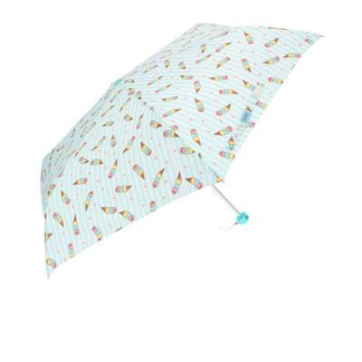 アテイン ATTAIN 女児軽量ミニポンジー 折りたたみ傘55cm