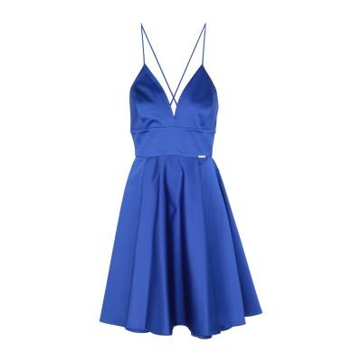 フランキー モレロ FRANKIE MORELLO ミニワンピース&ドレス ブルー 42 ポリエステル 97% / ポリウレタン 3% ミニワンピー