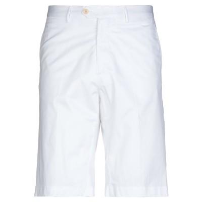 エトロ ETRO バミューダパンツ ホワイト 46 コットン 97% / ポリウレタン 3% バミューダパンツ