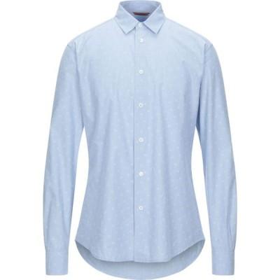 バレナ BARENA メンズ シャツ トップス Patterned Shirt Sky blue