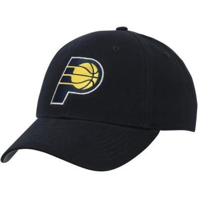 メンズ スポーツリーグ バスケットボール Men's Navy Indiana Pacers Mass Adjustable Hat - OSFA 帽子