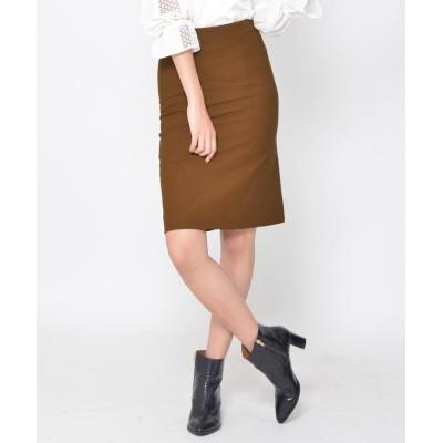 【ビッキー】 2way切り替えストレートスカート レディース ブラウン SS(0) VICKY