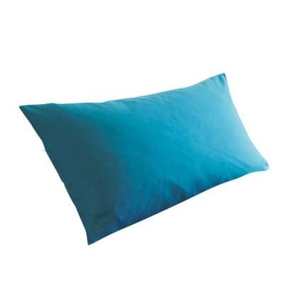 (セシール)cecile 枕カバー 「丈夫でしっかり」綿ツイル枕カバー ターコイズブルー LL CR-726 CR-726