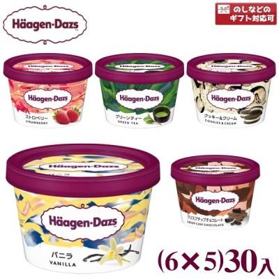 (5つ選んで本州一部冷凍送料無料)ハーゲンダッツ ミニカップ (6×5)30入