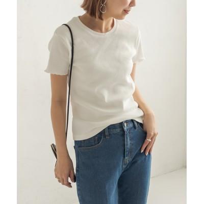 【FRUIT OF THE LOOM/フルーツオブザルーム】リブTシャツ