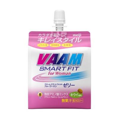 ヴァーム スマートフィットフォーウーマンゼリー キウイ風味 ケース ( 180g*24袋入 )/ ヴァーム(VAAM)
