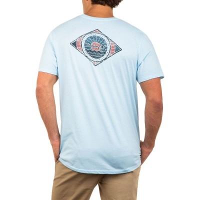 ハーレー Hurley メンズ Tシャツ トップス Out To Sea Premium T-Shirt Topaz Mist Htr