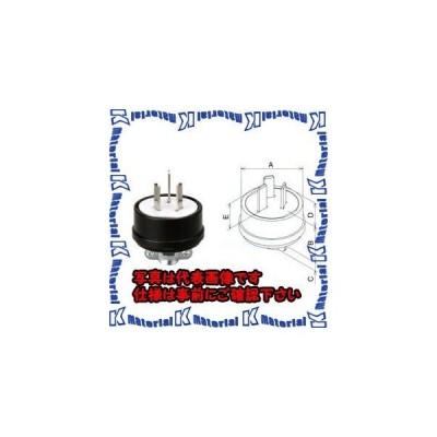 【代引不可】【個人宅配送不可】ESCO(エスコ) AC250V/15A プラグ(3P) EA940BB-6 [ESC078999]