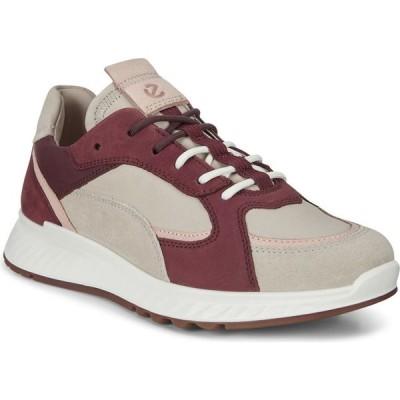 エコー ECCO レディース スニーカー シューズ・靴 ST1 Sneaker Multicolor Gravel Leather