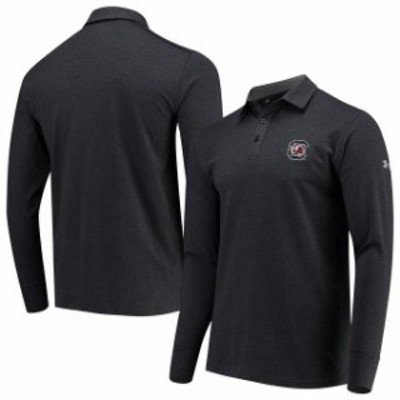 Under Armour アンダー アーマー スポーツ用品  Under Armour South Carolina Gamecocks Black Charged Cotton Long Sleeve Performance