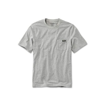 L.L.Bean(エルエルビーン) メンズ Tシャツ ジャパン・フィット ケアフリー・アンシュリンカブル・ティ 半袖 ポケ