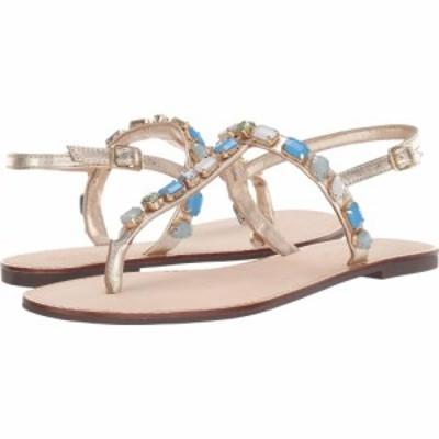 リリーピュリッツァー Lilly Pulitzer レディース サンダル・ミュール シューズ・靴 Raysa Sandal Gold Metallic