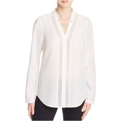 レディース 衣類 トップス Finity Womens Long Sleeve Button Up Shirt ブラウス&シャツ