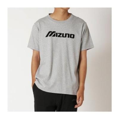 ミズノ公式 Tシャツ ユニセックス グレー杢