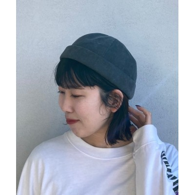 babybaby / 【TESTIFY/テスティファイ】 【親子】ピグメントロールキャップ/Pig Dyed Roll Cap MEN 帽子 > キャップ