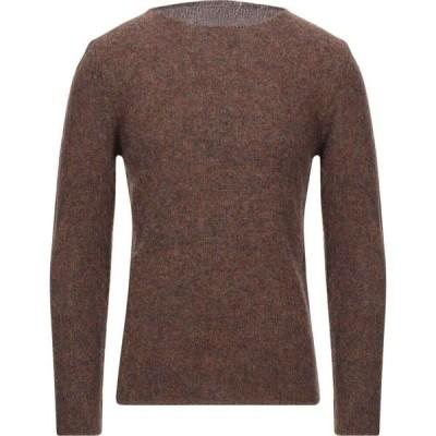 ベルウッド BELLWOOD メンズ ニット・セーター トップス sweater Brown