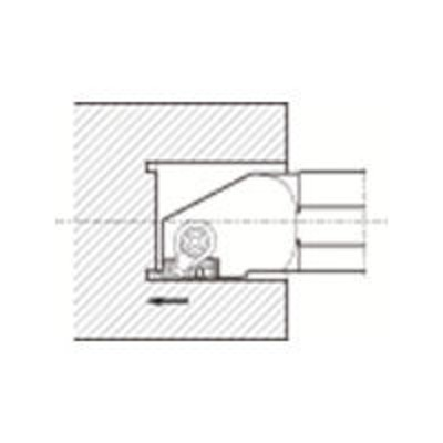 京セラ京セラ(KYOCERA) 京セラ 溝入れ用ホルダ GIFVR3532B-201A 1個 643-0422(直送品)