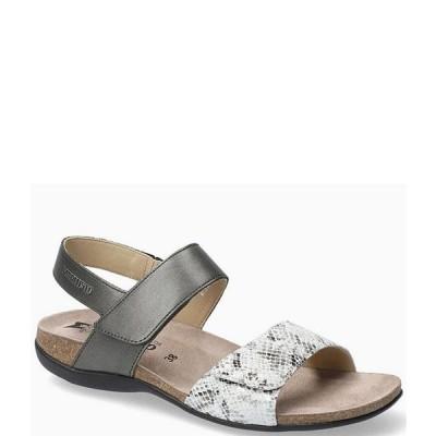 メフィスト レディース サンダル シューズ Agave Suede Banded Leather Slingback Sandals