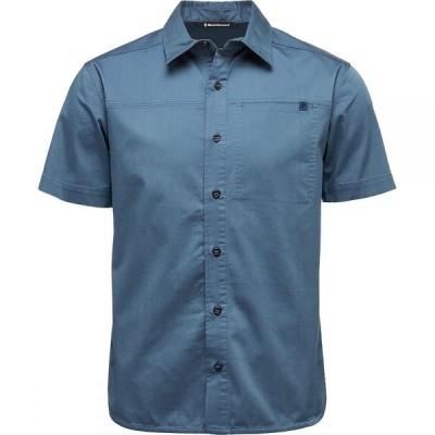 ブラックダイヤモンド Black Diamond メンズ 半袖シャツ トップス Stretch Operator Shirt Ink Blue