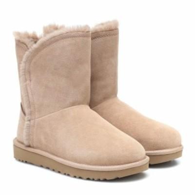 アグ Ugg レディース ブーツ ショートブーツ シューズ・靴 classic short suede ankle boots