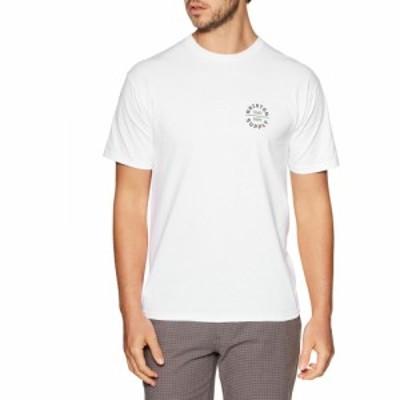 ブリクストン Brixton メンズ Tシャツ トップス oath v standard short sleeve t-shirt White