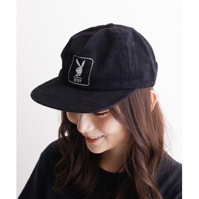 TONE / 【HUF×PLAY BOY】CORDUROY 5 PANEL CAP(BEY) WOMEN 帽子 > キャップ