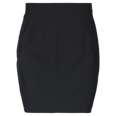 ディースクエアード DSQUARED2 ひざ丈スカート ブラック 38 バージンウール 95% / ポリウレタン 5% ひざ丈スカート