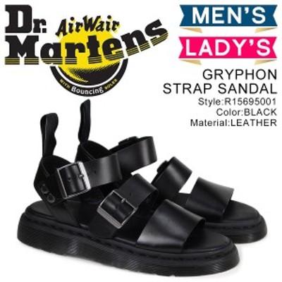 ドクターマーチン Dr.Martens サンダル グリフォン メンズ レディース GRYPHON STRAP SANDAL R15695001 予約 3月中旬 追加入荷予定