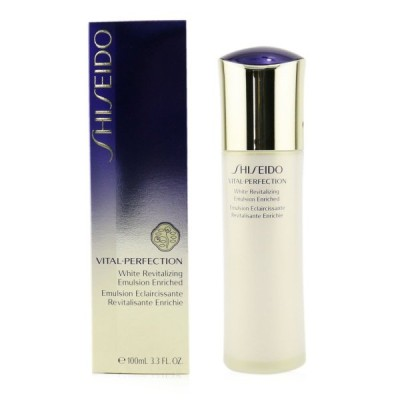 資生堂 保湿 トリートメント Shiseido バイタルパーフェクション ホワイトRV エマルジョン エンリッチド 100ml 誕生日プレゼント