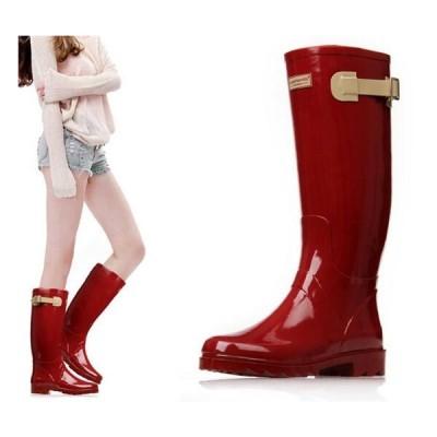 【協和屋】レインブーツ 長靴 レインシューズ レディース ロングブーツ ロング 防水 雨靴 おしゃれ 防寒 軽量 アウトドア