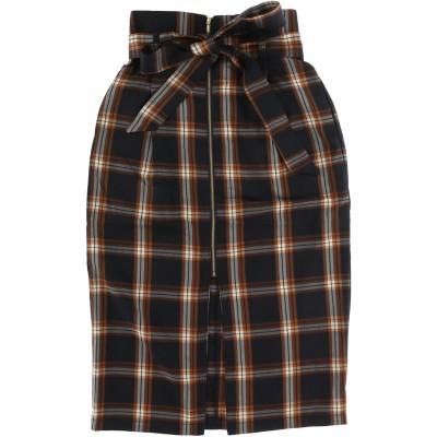 【Hunch】先染めチェックナロースカート