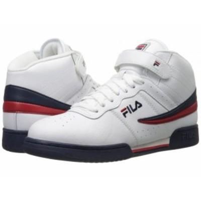 Fila フィラ メンズ 男性用 シューズ 靴 スニーカー 運動靴 F-13V Leather/Synthetic White/Fila Navy/Fila Red【送料無料】