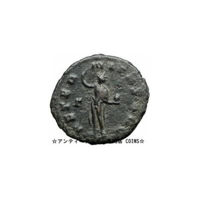 金貨 銀貨 硬貨 シルバー ゴールド アンティークコイン GALLIENUS son of Valerian I 267AD Authentic An
