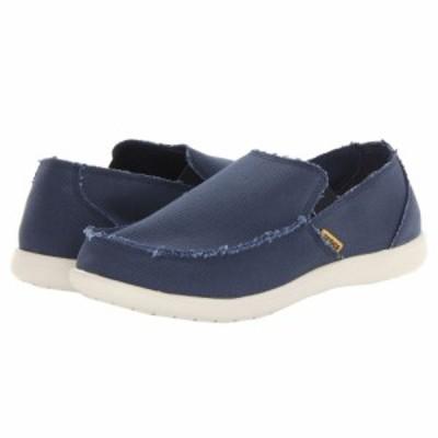 クロックス Crocs メンズ ローファー シューズ・靴 Santa Cruz Navy/Stucco