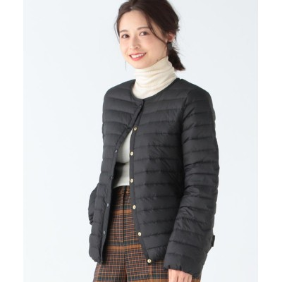 【ビームス ウィメン】 Traditional Weatherwear / ARKLEY ショート ライトダウン レディース ブラック 36 BEAMS WOMEN