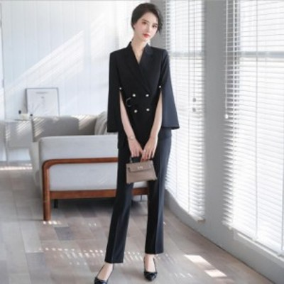 大きいサイズ OL 通勤 通学 ビジネス フォーマル パーティー スーツ[S/M/L/2L/3L/4L/5L][白/黒/ピンク]