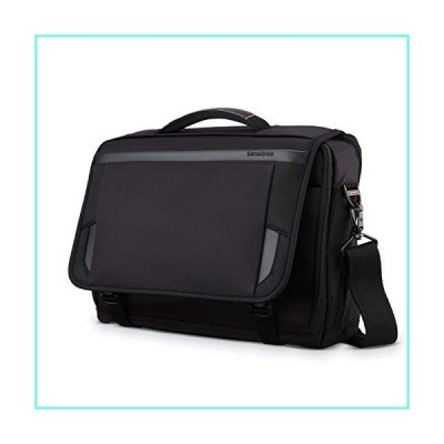Samsonite Pro Slim Messenger, Black, 15.6-Inch並行輸入品