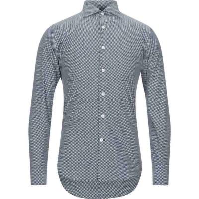ロダ RODA メンズ シャツ トップス patterned shirt Dark blue