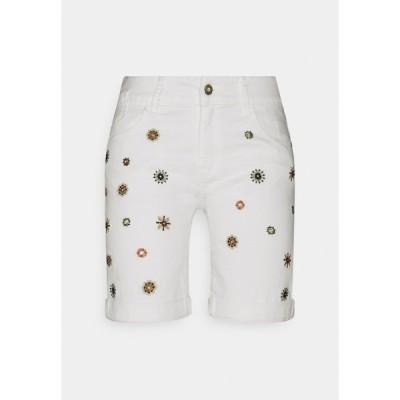 デジグアル デニムパンツ レディース ボトムス Denim shorts - white