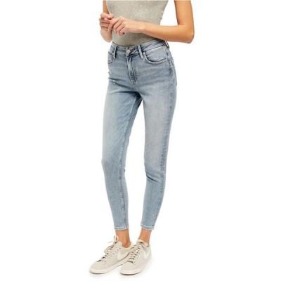 フリーピープル レディース デニムパンツ ボトムス Montana High-Rise Skinny Jeans