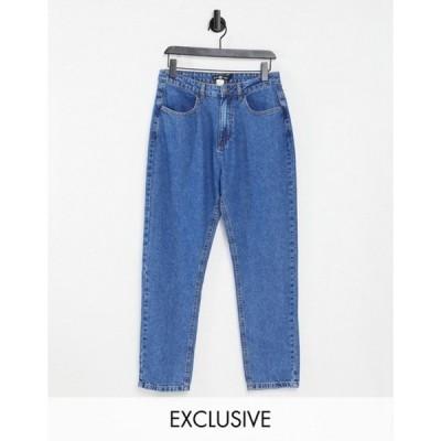 デイジーストリート レディース デニムパンツ ボトムス Daisy Street mom jeans in bleach denim