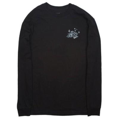 ベイト メンズ 服  BAIT x Rick and Morty Men Barf Long Sleeve Tee (black)