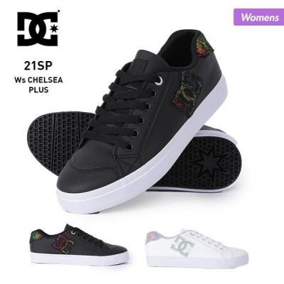 DC SHOES/ディーシー レディース シューズ スニーカー くつ 靴 ヒモ 紐 白色 ホワイト 黒色 ブラック B系 DW211005