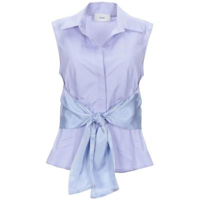 RAME シャツ ライラック 0 コットン 100% / レーヨン / キュプラ シャツ