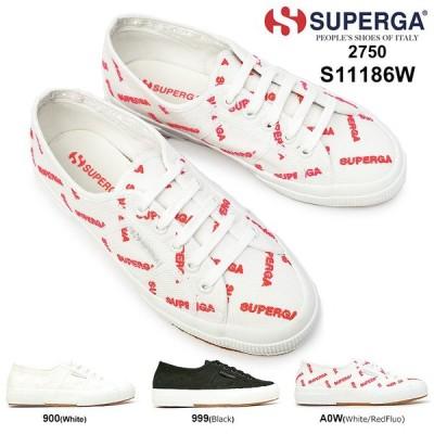 スペルガ スニーカー レディース 2750 S11186W COTUEMBLOGO ロゴ刺繍