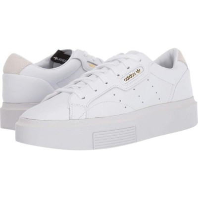 アディダス adidas Originals レディース スニーカー シューズ・靴 Sleek Super Footwear White/Crystal White/Core Black